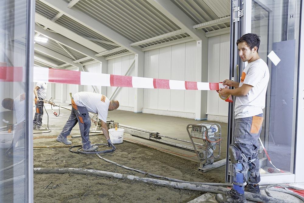 Fermer l'accès au chantier