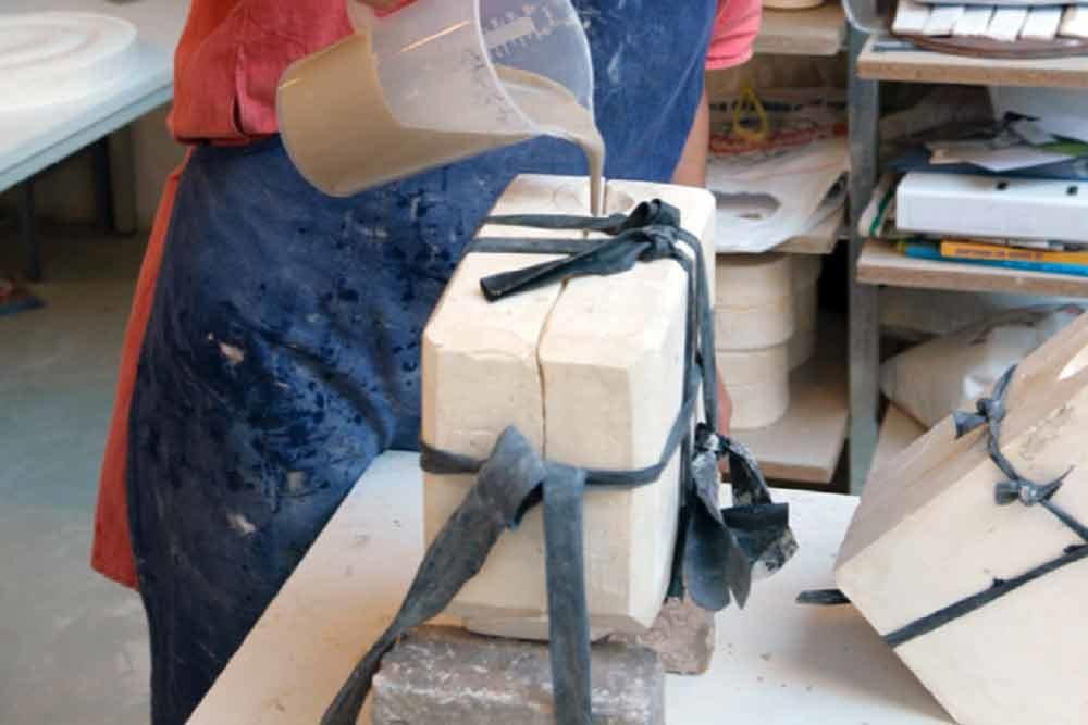 Fabrication de moules en plâtre