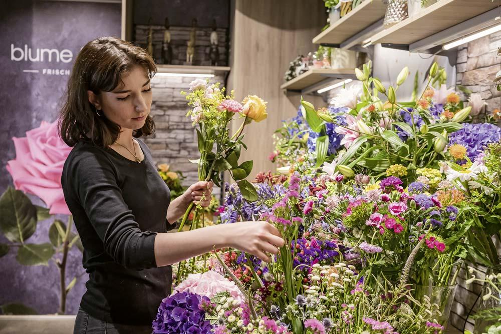 Approvisionnement en fleurs
