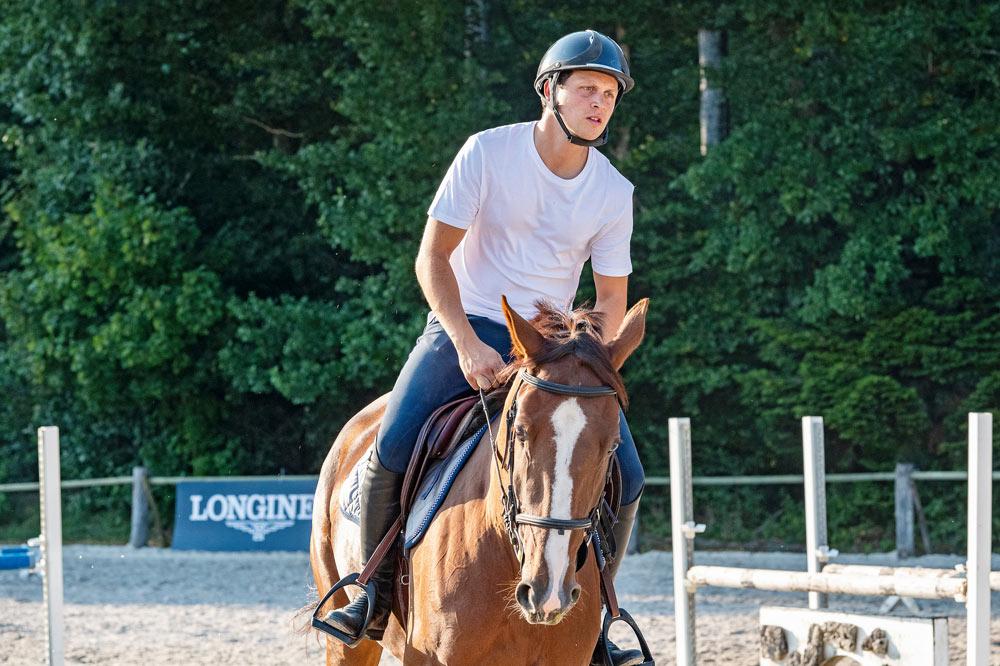 Fare rilassare il cavallo