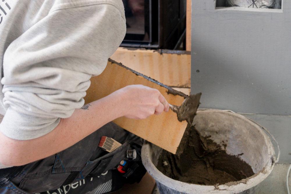 Lavori di muratura e di intonacatura