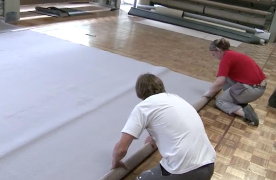 Posatore/trice di pavimenti-parquet AFC