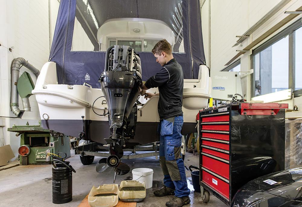 Manutenzione dei motori