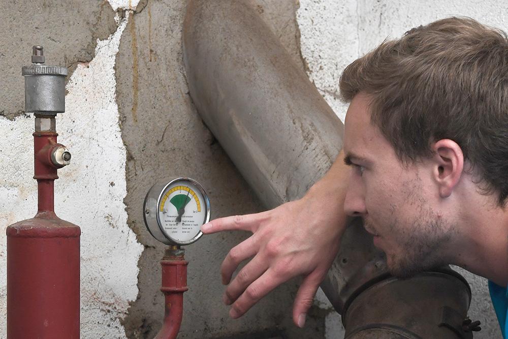 Controllare le installazioni sui cantieri