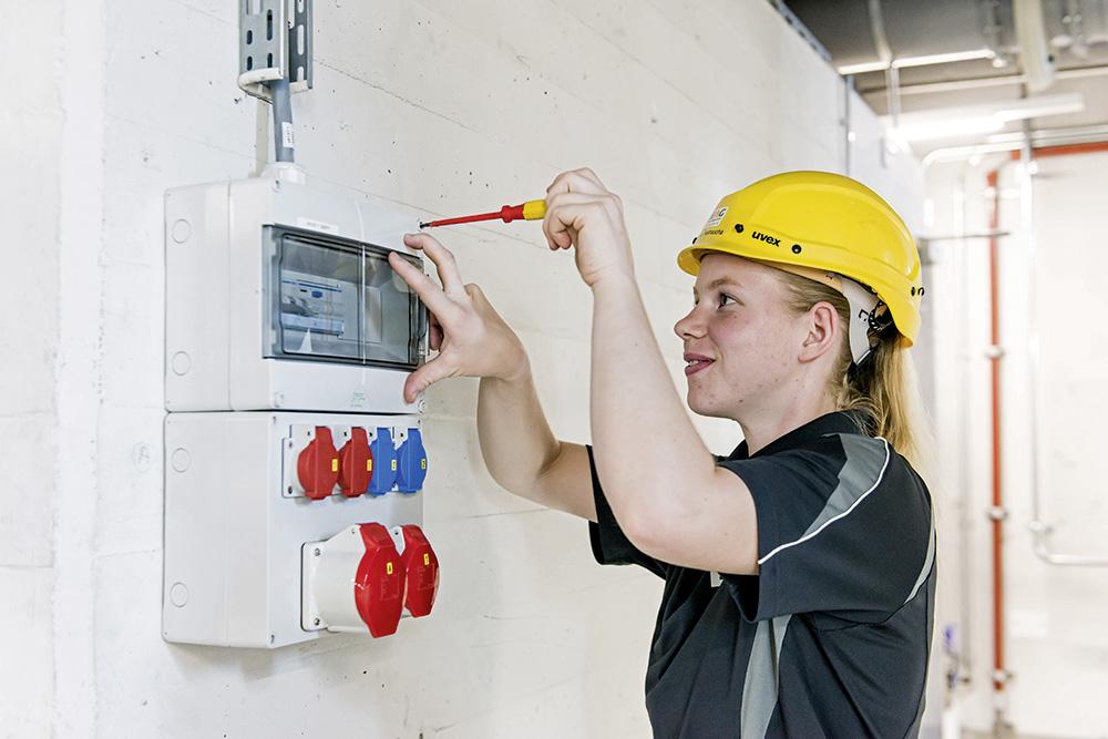 Montare distributori elettrici