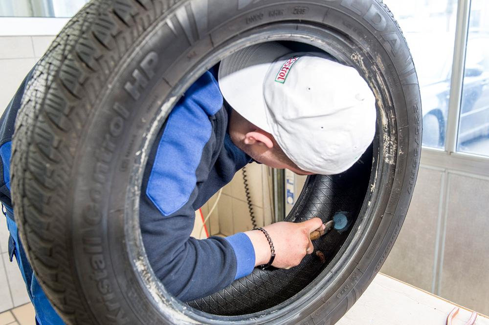 Riparare gli pneumatici
