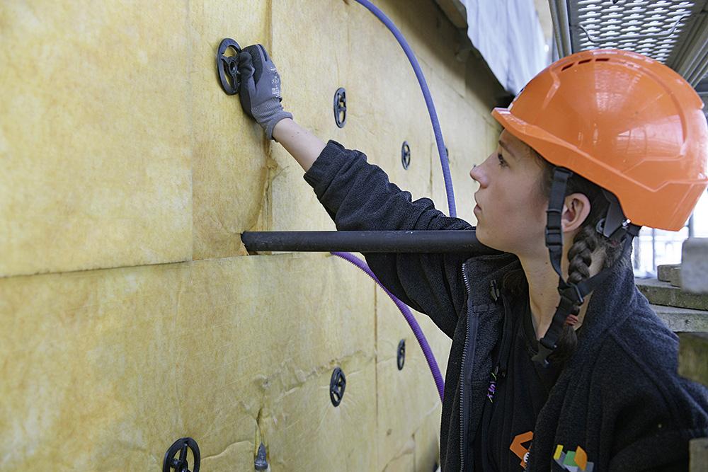 Installare l'isolamento termico