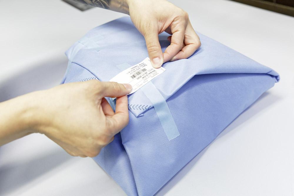 Imballare ed etichettare
