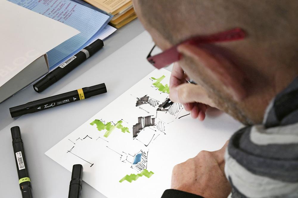 I disegni dei piani