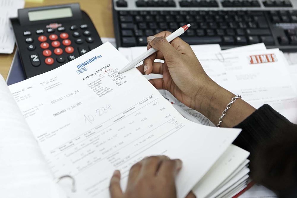 Aiuto per la contabilità