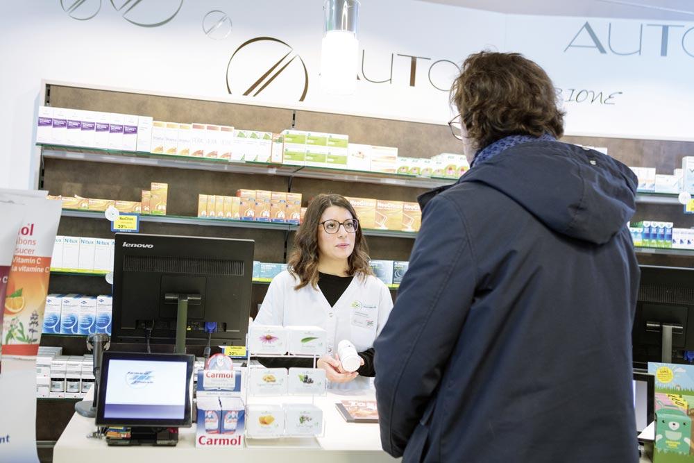 Consulenza nella vendita di medicamenti