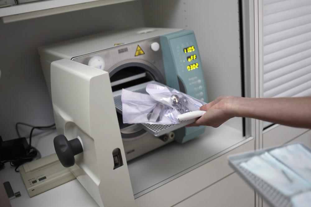 Sterilizzazione degli strumenti