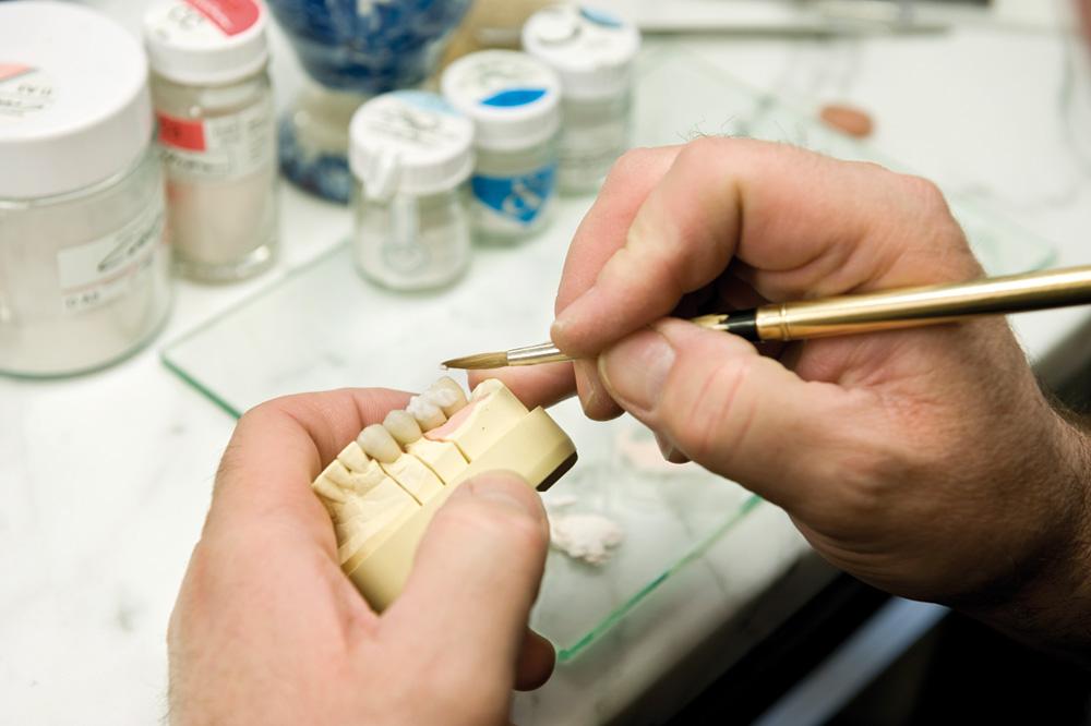 Applicare la ceramica