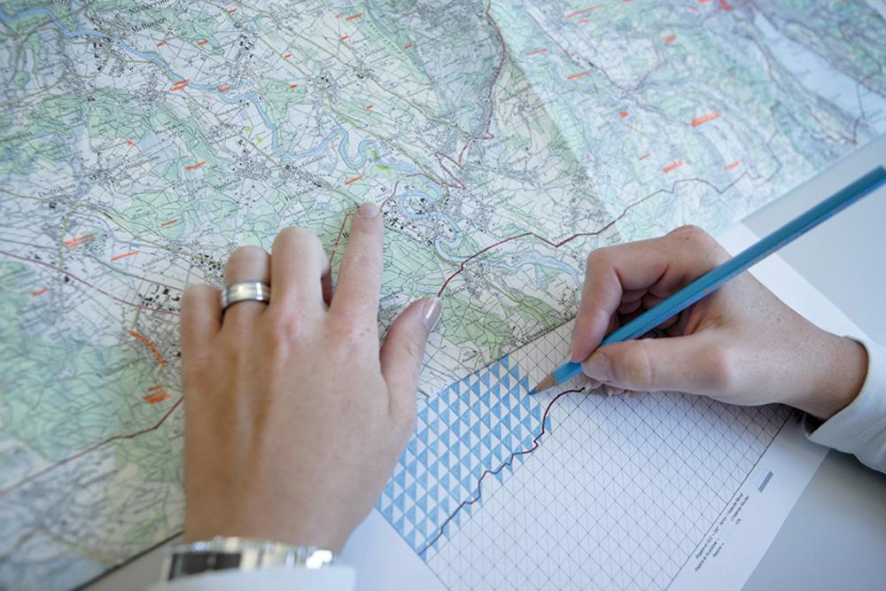 Produzione di carte geografiche