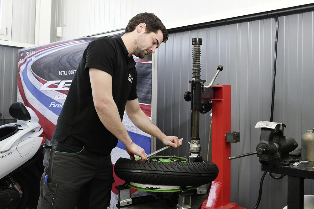 Cambiare pneumatici