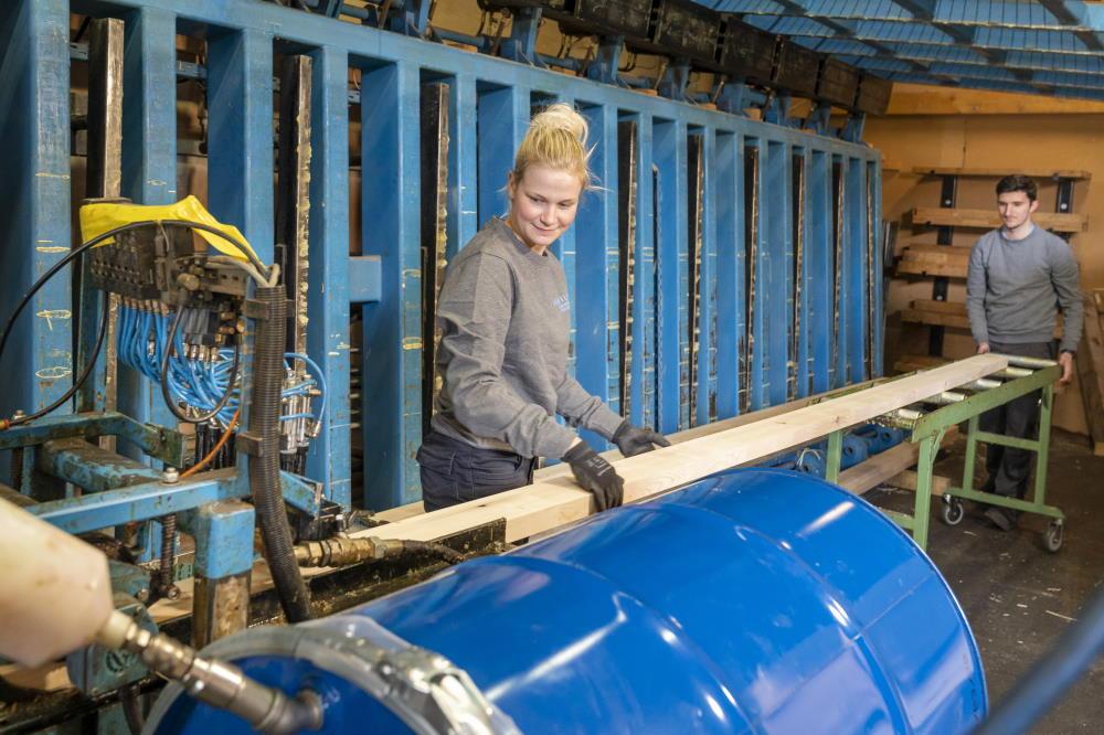 Asciugare il legno